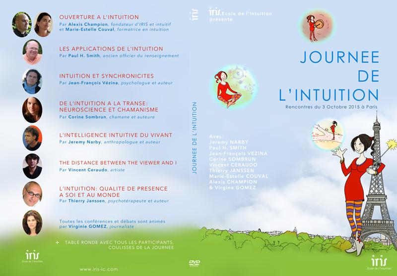 DVD de la Journée de l'Intuition - Couverture