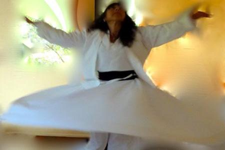 La danse derviche tourneur ou la danse des planètes - Atelier d'Indira Melloul - 26 mars 2017